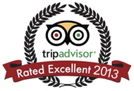 TripAdvisor Rated Excellent 2013