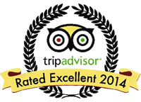 TripAdvisor Rated Excellent 2014